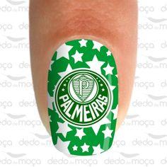 Adesivo para Unha - Palmeiras
