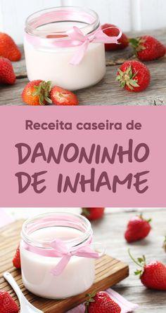 Essa é uma excelente alternativa ao iogurte industrializado, sendo uma opção mais saudável para as crianças, mas com muito sabor.