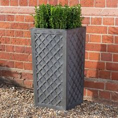 Vitality (Diamond) Planters are manufactured from recycled rubber and a planter engineered for all seasons Tire Planters, Planter Pots, Fruit Cage, Rubber Material, Recycled Rubber, Self Watering, Rubber Tires, Mold And Mildew, Raised Beds