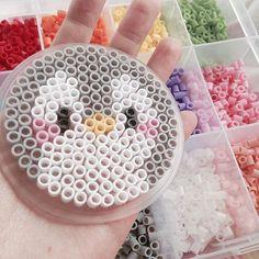 Penguin perler beads by 17.30_