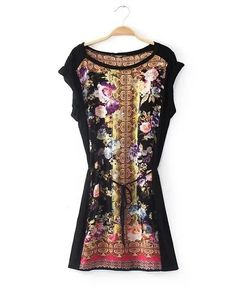 $13.32 Vintage Blended Flower Printing Sleeveless Tall Waist Dress Lacing A-line Dress http://www.eozy.com/vintage-blended-flower-printing-sleeveless-tall-waist-dress-lacing-a-line-dress.html