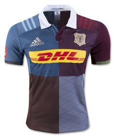 47b836170ff Harlequins 2016/17 Adidas 150th Anniversary Home Rugby Equipment, Rugby  Jerseys, Rugby Shirts