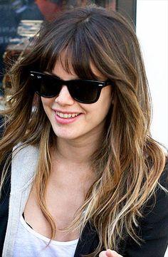 """Rachel Bilson """"ombre"""" hair"""