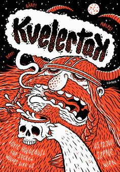 Why can't metal band posters be more fun like this instead of all the pentagram bullshit.