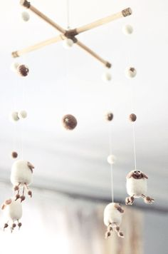 Items similar to Baby Mobile - Needle Felted Sheep Mobile, Nursery Decor, Baby Shower Gift on Etsy Needle Felted Animals, Felt Animals, Needle Felting, Mobiles, Sheep Mobile, Nursery Decor, Room Decor, Felt Baby, Home And Deco