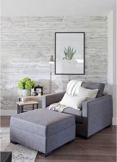 Nature-inspiring sitting area