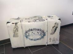 Vintage Koffer - Alten Koffer in shabby , vintage - ein Designerstück von ArtNata bei DaWanda