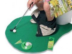 Potty Golfing Putter Set, half price, I wonder why....BAH!!!