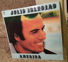 JULIO IGLESIAS America LP (Vinyl, CBS Columbia (USA) 1980 33rpm DJL-50305