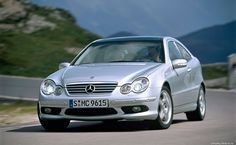 Mercedes W203 Sport Coupe HD Wallpaper