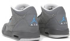 Nike Air Jordan 3 Retro – Cool Grey 'Flips' – Womens