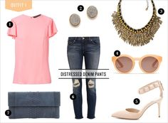 Weekly Wardrobe: Distressed Denim | Rue