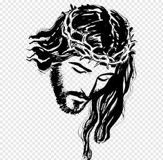 Christian Drawings, Christian Art, Jesus Sketch, Marilyn Monroe Drawing, Cross Drawing, Jesus Christ Painting, Jesus Drawings, Rose Sketch, Lion Illustration