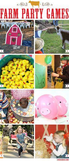 Farm theme party games! #farmparty #cowboyparty #countrywesternparty