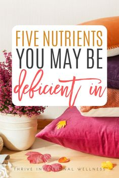5 Nutrients You May Be Deficient in If you Have Hormone Imbalance - Thrive Stress Relief Tips, Natural Stress Relief, Nutrition Tips, Health Tips, Nutrition Education, Pms Remedies, Déséquilibre Hormonal, Cas, Balance Hormones Naturally