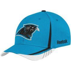 c595521dc NFL Carolina Panthers Sideline Flex-Fit Draft Hat