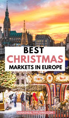 Christmas in Europe is so magical. Are you looking for the best Christmas markets in Europe? Wondering where the BEST European Christmas markets are? Add these Europe Christmas Markets to your Europe Bucket List. Best Christmas Markets Europe, Christmas Travel, Holiday Travel, Christmas Trips, Christmas Skirt, Europe Holidays, Christmas Vacation, Europe Travel Guide, Europe Europe