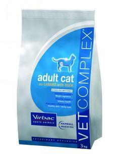 Pienso Virbac Vet complex adult cat pato pienso para gatos adultos. Pienso para gatos / Comida para gatos: Pienso Virbac Vet complex adult cat pato pienso para gatos adultos. Indigado para gatos adultos de todas las razas. En Petclic ahorras mas de un 35% en todas tus compras de piensos y alimentación para gatos. Todas las garantías. Toda la seguridad que necesitas y mas de 5.000 productos de alimentación rebajados. www.petclic.es
