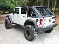 Bestop's #JeepWrangler JK Trek Top NX: Cool & Covered - Full Tech Article Here: http://www.4wheeloffroad.com/techarticles/body/131_1212_bestop_jeep_wrangler_jk_trek_top_nx/