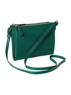 Women's Faux-Leather Crossbody Bag Product Image