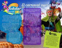 #TLAXCALA #TOTOLAC Presentan programa de carnaval Totolac 2014, en la que hacen énfasis en que el binomio diversión y seguridad están garantizados  Se busca que el carnaval se convierta en una experiencia inolvidable para los visitantes.
