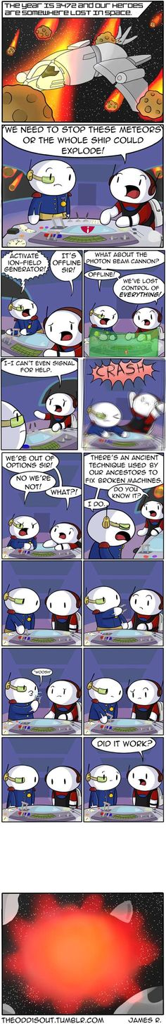 Theodd1sout :: Our Hero's Journey. | Tapastic Comics - image 1
