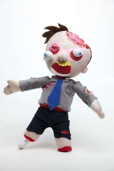These Horror-Themed Friends by Stuffles Only Want Your Love trendhunter.com