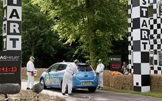 Goodwood Festival of Speed 2012: Nissan's record in reverse - Telegraph