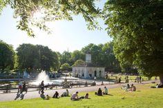 Hyde Park – valtava puisto keskellä Lontoota, jossa voit hölkätä, kävellä tai vain oleskella auringossa herkullisen picnicin äärellä. #London #Lontoo #kaupunkiloma #Tjäreborg