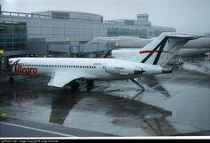Boeing 727-221RE, Allegro Airlines, N727FV, cn 22536/1774, first flight 26.8.1981 (Pan American World Airways), Allegro delivered 5/1998. Stored. Foto: San Francisco, USA, 11/2000.
