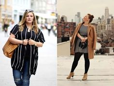 Mode Illusions: No gordas en este 'Street Style' #curvy #modaxxl