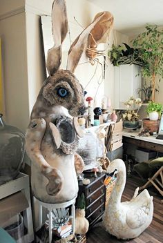 Awesome Paper Mache Creatures Like Never Seen Before (35)