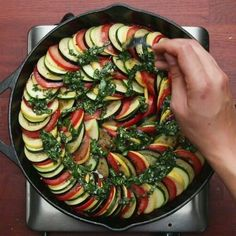 Easy Vegan Ratatouille Recipes Vegan Recipes is part of Vegan recipes Easy Vegan Ratatouille Recipes Easy Vegan Ratatouille Recipes Sambestfood veganrecipes - Vegan Recipes Easy, Vegetable Recipes, Easy Dinner Recipes, Easy Meals, Cooking Recipes, Cooking Crab, Dinner Ideas, Easy Vegan Lunch, Vegetable Tart