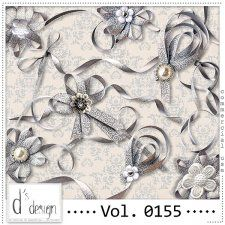 Vol. 0155 - Ribbons Mix  by Doudou's Design  #CUdigitals cudigitals.comcu commercialdigitalscrapscrapbookgraphics #digiscrap