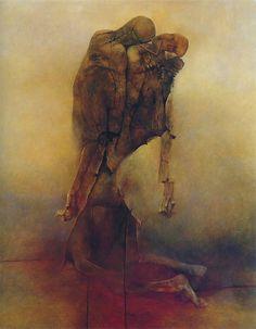 Zdzisław Beksiński: Terrifying Visions Of Hell By Murdered Polish Painter