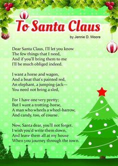 Christmas Poems For Kids | Poem, Snowman and Christmas verses