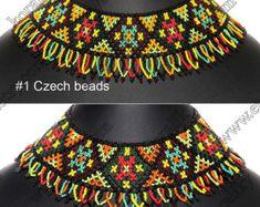 Granos tradicional ucraniano popular joyería hecha a por koraliky