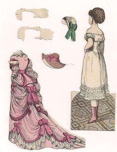 The Bridesmaid Mcloughlin Bros Doll 4 Dresses Coat Hats Org