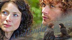 Outlander Fan Art, Outlander Season 1, Sam Heughan Outlander, Outlander Book Series, Outlander Tv Series, Diana Gabaldon Outlander, Sam Heugan, Wedding Kiss, Jamie And Claire