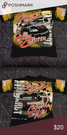 Vintage Dale Earnhardt All-over print tee Vintage Dale Earnhardt All-over print tee, 9/10 condition, size Large but fits like an Extra Large, 100% Authentic. Shirts Tees - Short Sleeve