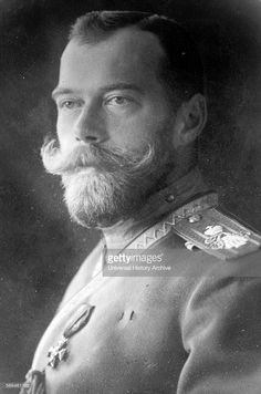 The last Tsar of Russia, Nicholas II in 1910.                                                                                                                                                                                 More