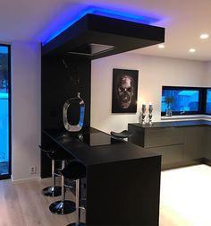 Marta Verón - Google+ Kitchen Bar Design, Luxury Kitchen Design, Home Decor Kitchen, Interior Design Kitchen, Home Room Design, Dream Home Design, Modern Kitchen Interiors, Dream House Interior, Cuisines Design