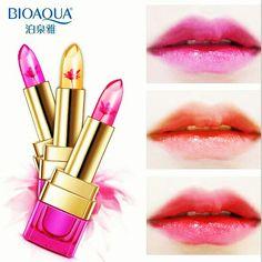 Pack of 3 . Jelly Lipstick, Gloss Lipstick, Lipstick Colors, Lip Colors, Hydrating Lip Balm, Lip Moisturizer, Jelly Flower, Lip Hydration, Cosmetic Sets