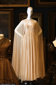 Madame Grès from France designed this dress in 1980. It is made from silk…