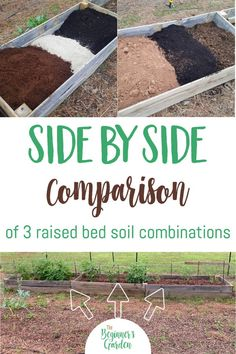 Looking to fill your raised beds with raised bed soil? What kind of blend should you choose? While there are many raised bed soil mixes to select from, how do you know which is best for you? Raised Garden Bed Soil, Soil For Raised Beds, Raised Vegetable Gardens, Building Raised Garden Beds, Garden Soil, Raised Garden Beds Irrigation, Box Garden, Garden Compost, Garden Cottage
