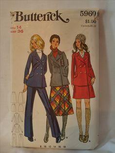 7082 Vintage Simplicity SEWING Pattern Misses Vest Shirt Hat XS-XL FF Crafts OOP
