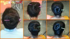 5 Bun Hairstyle with Chinese Bun Stick | How to use Bun Stick | Chinese Bun