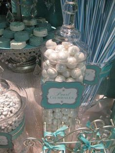 Pearl Gumballs for Candy/Dessert Bar. Duh I'm having these.