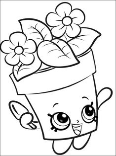 Choc Mint Charlie from shopkins season 6 Chef Club coloring pages printable and coloring book to print for free. Find more coloring pages online for kids and adults of Choc Mint Charlie from shopkins season 6 Chef Club coloring pages to print. Spring Coloring Pages, Cute Coloring Pages, Flower Coloring Pages, Free Printable Coloring Pages, Free Coloring, Adult Coloring Pages, Coloring Pages For Kids, Coloring Sheets, Coloring Books