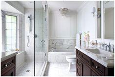 Laura Stein - Toronto - Canada - Interior Designer - Dering Hall - Bathroom - Master Bathroom - York Mills - White Marble - Bathtub